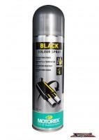 สีสเปรย์พ่นเครื่องยนต์ MOTOREX BLACK COLOR SPRAY - 500ML