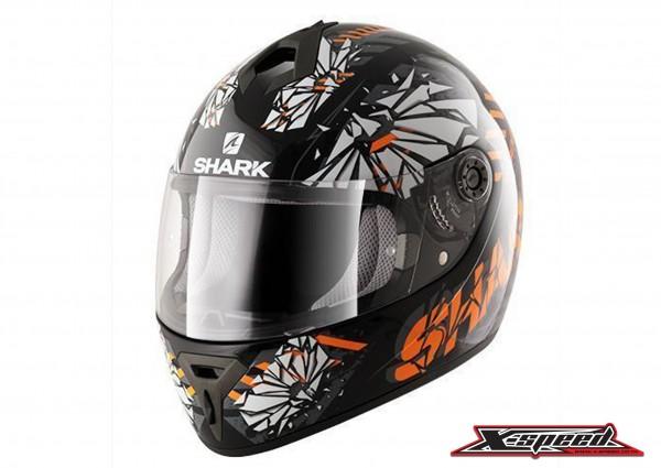 หมวกกันน็อค  Shark Helmets S600 POONKY Black orange|Shark Helmets S600 POONKY Black orange4.jpg