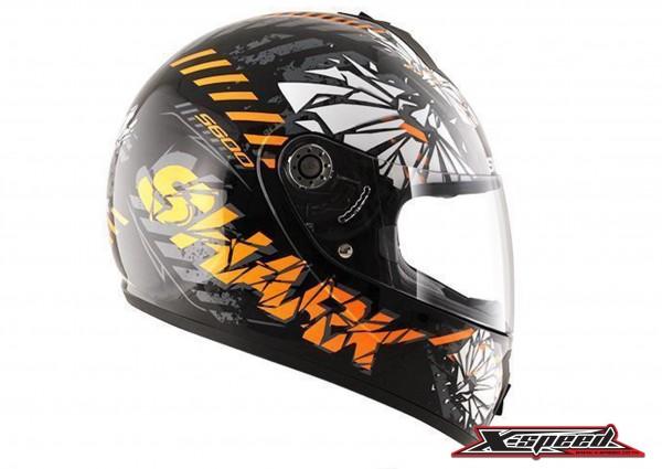 หมวกกันน็อค  Shark Helmets S600 POONKY Black orange|Shark Helmets S600 POONKY Black orange5.jpg