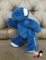 ตุ๊กตาหมีสีน้ำเงิน HONDA