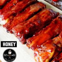 ซี่โครงหมูบาร์บีคิว Honey (Honey BBQ Ribs)