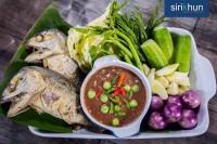 ชุดน้ำพริกปลาทูทอด