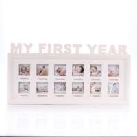 กรอบรูป 1ปี Picture frame my first year baby Pink