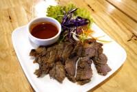 เนื้อย่างจิ้มแจ่ว Grilled beef with Thai Spicy Sauce