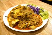 กุ้งผัดผงกะหรี่ Stir Fried Shrimp with Curry Powder