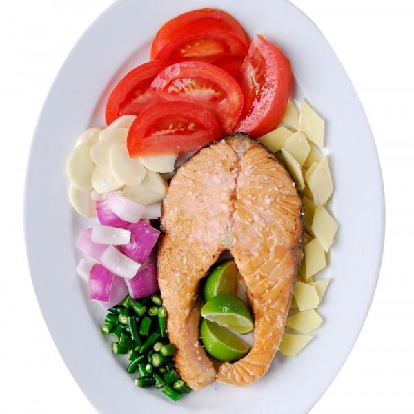 ปลาแซลมอนทอดโรยเกลือ|08-ปลาแซลมอนทอดโรยเกลือ.jpg