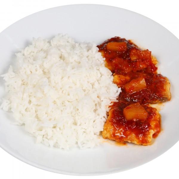 ข้าวเนื้อปลากระพงพริกสามรส|17-ข้าวหน้าเนื้อปลากระพงทอดราดพริกสามรส.jpg