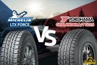 รีวิวยางเปรียบเทียบ : Michelin LTX FORCE VS Yokohama GEOLANDAR AT G015