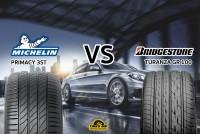 รีวิวยางเปรียบเทียบ : Michelin Primacy 3 ST VS Bridgestone GR-100