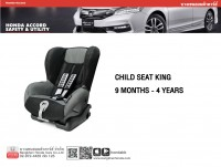 Modulo Child Seat King 9 month-4Year