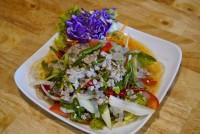 ยำเส้นแก้ว Glass Seaweed noodle Spicy salad