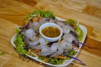กุ้งดองแซ๊ป Shrimp in fish sauce