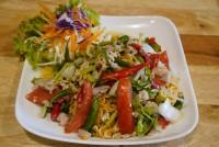 ยำมาม่าหมูสับ Instant noodle spicy salad