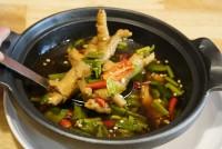 ต้มแซ่บขาไก่ Chicken Feet Spicy Soup