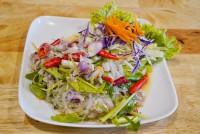 ยำวุ้นเส้น Glass Noodle with Seafood Spicy Salad