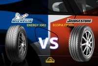 รีวิวยางเปรียบเทียบ : Michelin XM2 VS Bridgestone EP300