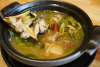 ต้มยำซี่โครงหมู Hot and Spicy Soup with Pork Rib
