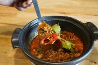 แกงป่าหมูสับ Jungle Curry With Ground Pork