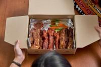 อาหารแพ็คสูญญากาศพร้อมทาน BBQ PORK SPARE RIBS / ซี่โครงหมู