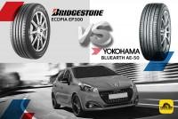 TIRESBID รีวิวยางเปรียบเทียบ : Bridgestone Ecopia EP300 Vs Yokohama BlueEarth AE-50