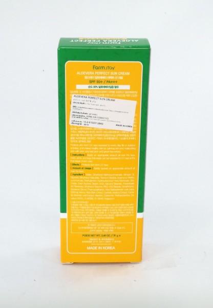 กันแดด 70มล. สูตรอโลเวล่า ช่วยให้ผิวชุ่มชื่น แม้แดดจะแรง  Farmstay Aloevera Perfect Sun Cream|Slide090.jpeg