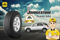 TIRESBID รีวิวยาง : Bridgestone Dueler 684 (บริดจสโตน ดูลเลอร์ ดี684)
