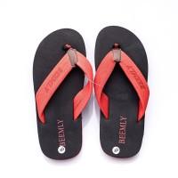 รองเท้าหูหนีบ slipper mixed color and size40 Red