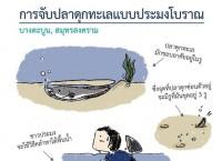 การจับปลาดุกแบบประมงโบราณ