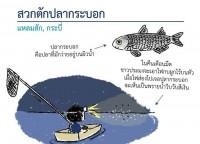 สวก(สะ-หว๊ก) ตักปลา