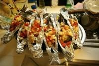 กุ้งแม่น้ำอบcheese(Party seafood @3)
