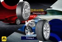 TIRESBID รีวิวยางเปรียบเทียบ : Michelin Primacy 4 Vs Continental Ultracontact UC6