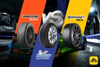 TIRESBID รีวิวยางเปรียบเทียบ : Bridgestone RE003 Vs Michelin Pilot Sport 4 Vs Continental MC6
