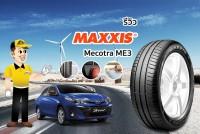 TIRESBID รีวิวยาง : Maxxis Mecotra ME3 (แม็กซิส เมโคทร้า เอ็มอีสาม)