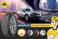 TIRESBID รีวิวยาง : Goodyear Efficientgrip Performance SUV (กู๊ดเยียร์ เอฟฟิเชี่ยนกริบ เพอร์ฟอร์แมนซ์ เอสยูวี)