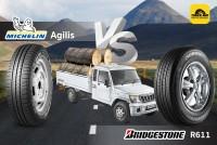 TIRESBID รีวิวยางเปรียบเทียบ : Michelin Agilis Vs Bridgestone Duravis R611