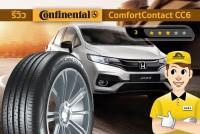 TIRESBID รีวิวยาง : Continental ComfortContact CC6 (คอนติเนนทอล คอมฟอร์ทคอนแทค ซีซีหก)